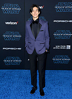 "LOS ANGELES, USA. December 17, 2019: Yuto Nakajima at the world premiere of ""Star Wars: The Rise of Skywalker"" at the El Capitan Theatre.<br /> Picture: Paul Smith/Featureflash"