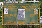 Wasgomuwa National Park Sign