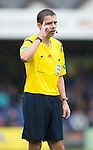 Ross County v St Johnstone...10.08.14  SPFL<br /> Referee Kevin Clancy<br /> Picture by Graeme Hart.<br /> Copyright Perthshire Picture Agency<br /> Tel: 01738 623350  Mobile: 07990 594431