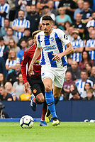 Leon Balogun of Brighton & Hove Albion (14)   during the Premier League match between Brighton and Hove Albion and Manchester United at the American Express Community Stadium, Brighton and Hove, England on 19 August 2018. Photo by Edward Thomas / PRiME Media Images.