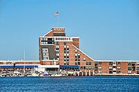 Hyatt hotel, Goat Island, Newport, RI, Rhode Island, USA
