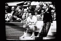John MsEnroe door de TV Monitor 1987