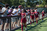 STANFORD, CA - SEPTEMBER 12: Samantha Williams after a game between Loyola Marymount University and Stanford University at Cagan Stadium on September 12, 2021 in Stanford, California.