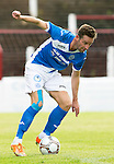 Glentoran v St Johnstone…. 09.07.16  The Oval, Belfast  Pre-Season Friendly<br />Steven MacLean<br />Picture by Graeme Hart.<br />Copyright Perthshire Picture Agency<br />Tel: 01738 623350  Mobile: 07990 594431