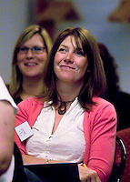 Teachers at a Teaching Expertise conference in Birmingham..
