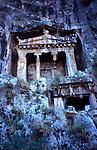 Lycian Rock Tombs - Fethiye-Turkey