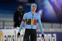 SPEEDSKATING: HEERENVEEN: 16-01-2021, IJsstadion Thialf, ISU European Speed Skating Championships, Mathias Voste (BEL), ©photo Martin de Jong