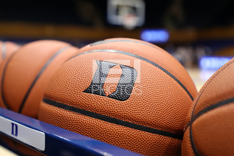 DURHAM, NC - JANUARY 16: Duke basketball during a game between Notre Dame and Duke at Cameron Indoor Stadium on January 16, 2020 in Durham, North Carolina.
