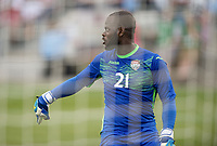 Commerce City, CO - Thursday June 08, 2017: Jan-Michael Williams during a 2018 FIFA World Cup Qualifying Final Round match between the men's national teams of the United States (USA) and Trinidad and Tobago (TRI) at Dick's Sporting Goods Park.