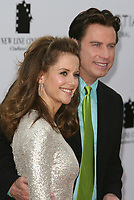"""12 July 2020 - Actress and wife of John Travolta Kelly Preston dead at age 57 from breast cancer.10 July 2007 - Westwood, California - Kelly Preston and John Travolta. """"Hairspray"""" Los Angeles Premiere held at the Mann Village Theatre. Photo Credit: Charles Harris/AdMedia"""