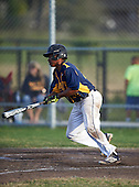 Boca Ciega Pirates Myles Jones (24) during a game against the Lakeland Spartans at Boca Ciega High School on March 2, 2016 in St. Petersburg, Florida.  (Copyright Mike Janes Photography)