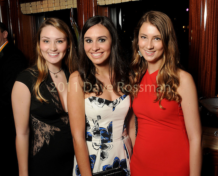 """From left: Maddy Laster, Adrianna Barton and Julianna Beathard at the San Luis Salute """"Space Pirates"""" VIP reception Friday February 24,2017. (Dave Rossman Photo)"""