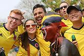 Hinchas de Colombia antes del partido de eliminatorias para el Mundial de Fútbol 2018 contra Ecuador en el Estadio Metropolitano Roberto Melendez de Barranquilla el 29 de marzo de 2016.<br /> <br /> Foto: Archivolatino<br /> <br /> COPYRIGHT: Archivolatino<br /> Prohibido su uso sin autorización.