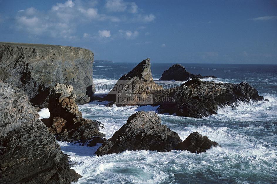 Europe/France/Bretagne/56/Morbihan/Belle-île/Pointe du Talut: La pointe