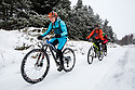 10/12/17<br /> <br /> Cyclists make their way up the Goyt Valley, near Whaley Bridge in the Derbyshire Peak District. <br />   <br /> All Rights Reserved F Stop Press Ltd. +44 (0)1335 344240 +44 (0)7765 242650  www.fstoppress.com
