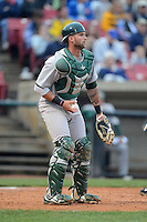Beloit Snappers catcher Nick Rickles #6 during a game against the Kane County Cougars on May 26, 2013 at Fifth Third Bank Ballpark in Geneva, Illinois.  Beloit defeated Kane County 6-5.  (Mike Janes/Four Seam Images)