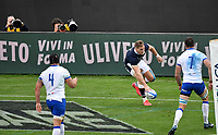 Duhan van der Merwe of Scotland scores a try during the the Autumn Nations Cup's match between Italy and Scotland at Stadio Artemio Franchi on November 14, 2020 in Florence, Italy. Photo Andrea Staccioli / Insidefoto