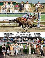 St. John's River winning The Delaware Oaks (gr2) at Delaware Park on 7/9/11