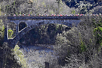 14th March 2021, Levens, France;   during stage 8 of the 79th edition of the 2021 Paris - Nice cycling race, a stage of 92,7 kms between Plan-du-Var and Levens on March 14, 2021 in Levens, France