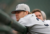 2007:  Sean Henn of the Scranton Wilkes-Barre Yankees, Class-AAA affiliate of the New York Yankees, during the International League baseball season.  Photo by Mike Janes/Four Seam Images