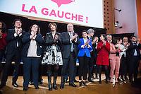 JEAN-VINCENT PLACE, EMMANUELLE COSSE, MARISOL TOURAINE, JEAN-MICHEL BAYLET, NAJAT VALLAUD-BELKACEM, STEPHANE LE FOLL, CLOTILDE VALTER, ANNICK GIRARDIN, PATRICK KANNER - MEETING PS - H… HO LA GAUCHE A L'UNIVERSITE PARIS DESCARTES