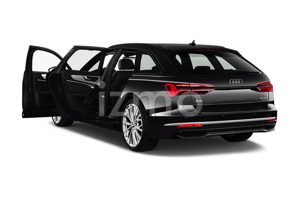 Car images close up view of a 2019 Audi A6 Avant Sport 5 Door Wagon doors
