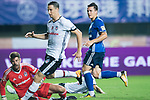 FC Schalke Goalkeeper Ralf Fahrmann (R) looks to bring the ball down to the goal during the Friendly Football Matches Summer 2017 between FC Schalke 04 Vs Besiktas Istanbul at Zhuhai Sport Center Stadium on July 19, 2017 in Zhuhai, China. Photo by Marcio Rodrigo Machado / Power Sport Images