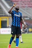 milan-inter - milano 21 febbraio 2021 - 23° giornata Campionato Serie A - nella foto: lukaku romelu