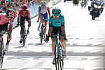 Ion Izagirre Insausti (ESP) Astana-Premier Tech and Ruben Guerreiro (POR) EF Education-Nippo finish 4th and 5th at the end of Stage 15 of the 2021 Tour de France, running 191.3km from Céret to Andorre-La-Vieille, Andorra. 11th July 2021.  <br /> Picture: Colin Flockton | Cyclefile<br /> <br /> All photos usage must carry mandatory copyright credit (© Cyclefile | Colin Flockton)