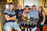 Enjoying the evening in Sean Og's on Friday, l to r: David, Nico, Michelle and Michael Murphy and Becky Brennan.