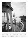 FROM THE OBSERVATION TOWER<br /> The Anchorage<br /> Seal Harbor, Maine<br /> Wallace K. Harrison, Architect, Built 1939 © Brian Vanden Brink, 1989