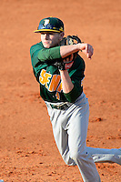 Siena Saints shortstop Tyler Martis #1 during a game against the Central Florida Knights at Jay Bergman Field on February 16, 2013 in Orlando, Florida.  Siena defeated UCF 7-4.  (Mike Janes/Four Seam Images)