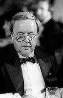 Yves Michaud<br />  a la  soiree des ambassadeurs au Palais des congrès de Montréal, le 18 septembre 1985.<br /> <br /> PHOTO : Pierre Roussel -  Agence Quebec Presse