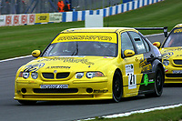 Round 10 of the 2002 British Touring Car Championship. #21 Gareth Howell (GBR). Team Atomic Kitten. MG ZS.