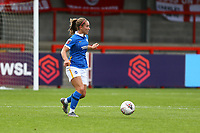 Maya Le Tissier of Brighton & Hove Albion during Brighton & Hove Albion Women vs Arsenal Women, Barclays FA Women's Super League Football at Broadfield Stadium on 11th October 2020