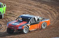 Dec. 11, 2011; Chandler, AZ, USA;  LOORRS pro 2 driver Myan Spaccarelli during the Lucas Oil Challenge Cup at Firebird International Raceway. Mandatory Credit: Mark J. Rebilas-