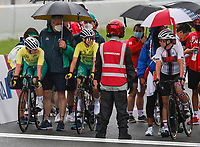 Australia's Women's Road Cycling Team during the C4-5 Road Race on day 09 of the 2020 Tokyo Paralympic Games.<br /> Paralympics Australia / Day 09<br /> Tokyo Japan: Thursday 2 Sep 2021<br /> © Sport the library / Greg Smith / PA