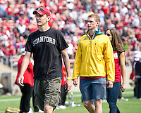 STANFORD, CA - October 6, 2012: Stanford Cardinal vs the Arizona Wildcats at Stanford Stadium in Sanford, CA. Final score Stanford 54, Arizona Wildcats 48 in overtime.