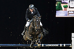 John Whitaker on Argento competes during the AirbusTrophy at the Longines Masters of Hong Kong on 20 February 2016 at the Asia World Expo in Hong Kong, China. Photo by Victor Fraile / Power Sport Images