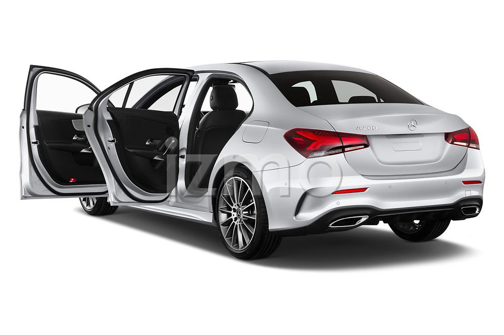Car images of 2019 Mercedes Benz A-Class - 4 Door Sedan Doors