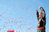 NASCAR XFINITY Series<br /> U.S. Cellular 250<br /> Iowa Speedway, Newton, IA USA<br /> Saturday 29 July 2017<br /> Ryan Preece, MoHawk Northeast Inc. Toyota Camry celebrates in victory lane <br /> World Copyright: Russell LaBounty<br /> LAT Images