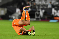Matty Cash of Aston Villa6` At the Final Whistle during West Ham United vs Aston Villa, Premier League Football at The London Stadium on 30th November 2020
