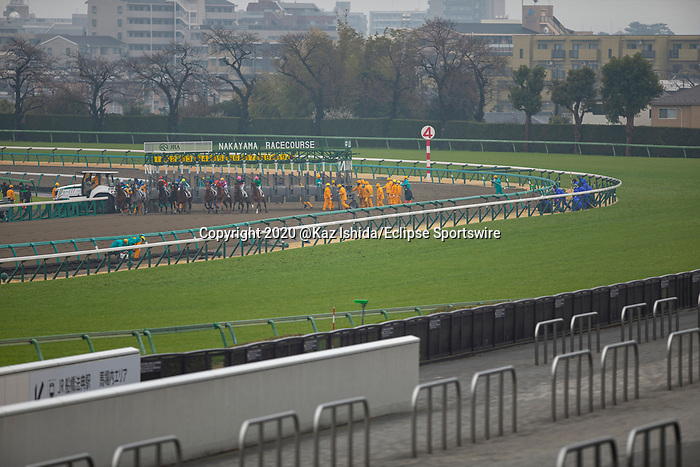 FUNABASHI,JAPAN-MAR 8: Racing starts without fans at Nakayama Racecourse on March 8,2020 in Funabashi,Chiba,Japan. Kaz Ishida/Eclipse Sportswire/CSM