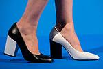 "Manuela Velasco's shoes attends to the presentation of the ""Proyecto Sonrisas"" at Gran Teatro Principe Pio in Madrid. March 23, 2017. (ALTERPHOTOS/Borja B.Hojas)"