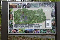 Cranberry Mountain Nature Center Sign, West Virginia.