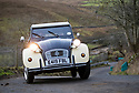 06/01/19<br /> <br /> Forty classic Citroen 2CVs make their way up over the Yorkshire moors as they take part in the annual 'Raid Tan Hill' which sees the tiny 602cc French cars climb (slowly!) to the Tan Hill Inn - the highest pub in the UK.<br /> <br /> All Rights Reserved, F Stop Press Ltd. (0)1335 344240 +44 (0)7765 242650  www.fstoppress.com rod@fstoppress.com