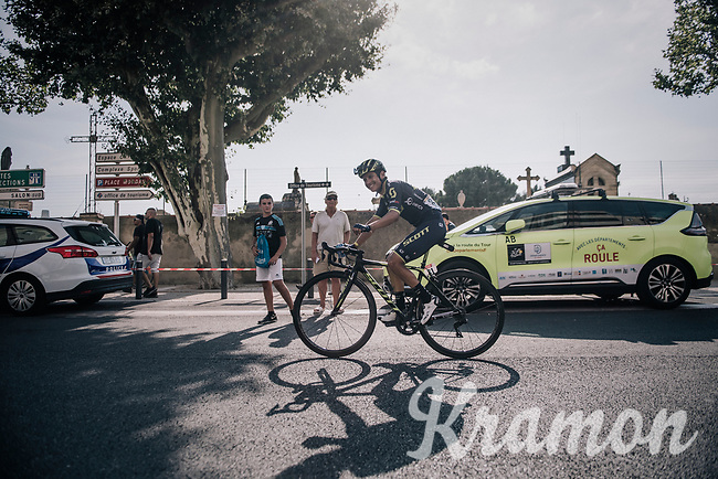 Johan Esteban Chaves (COL/ORICA-Scott) riding to the teambus after the stage<br /> <br /> 104th Tour de France 2017<br /> Stage 19 - Embrun › Salon-de-Provence (220km)