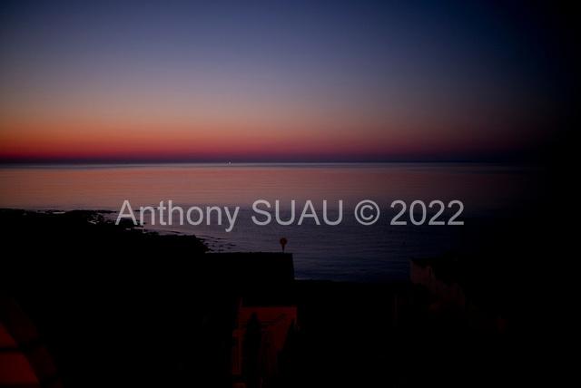 Calabernardo, Sicily, Italy<br /> July 22, 2019<br /> <br /> Sunrise on the Mediterranean sea.