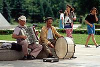 Bulgarien, Straßenmusikanten in Sofia
