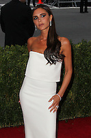 "NEW YORK CITY, NY, USA - MAY 05: Victoria Beckham at the ""Charles James: Beyond Fashion"" Costume Institute Gala held at the Metropolitan Museum of Art on May 5, 2014 in New York City, New York, United States. (Photo by Xavier Collin/Celebrity Monitor)"